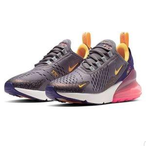 Nike Air Max 270 Purple and Orange